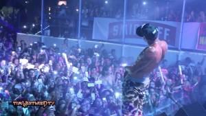 Chris Brown live Napa Rocks