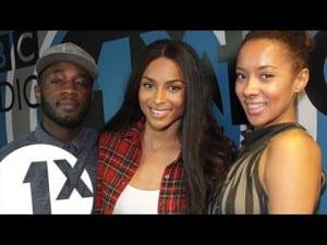 Ciara Plays 'I Bet' with Twin & Yasmin