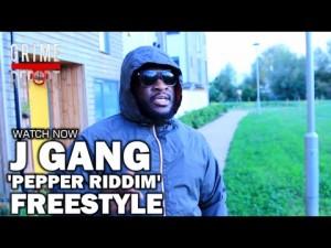 J Gang – Pepper Riddim Freestyle [@JGangMusic]