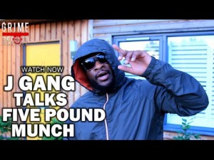 J Gang Talks Five Pound Munch [@JGangMusic]