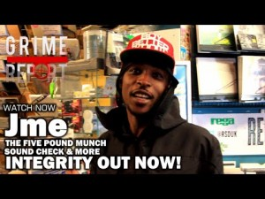 Jme Talks Five Pound Munch & More [Integrity Album Out Now On Itunes]