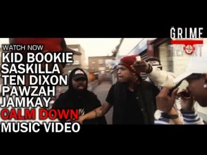 Kid Bookie – Calm Down ft Saskilla, Ten Dixon, Pawzah , Jamkay [Music Video]