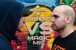Ozone Media: Predzz VS Magic Mic [WARZONE]