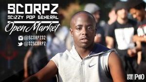 P110 – Scorpz (Scizzy Pop General) – Open Market [Net Video]