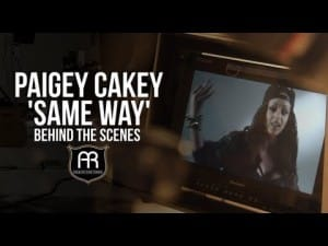 Paigey Cakey – Same Way (Behind The Scenes)
