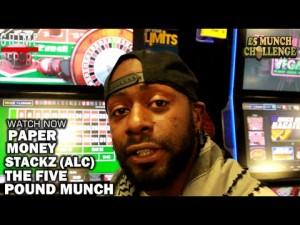 Paper Money Stackz (ALC) The Five Pound Munch [Brixton Edition]