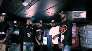"Section Boyz perform their new track ""Trappin Aint Dead"""