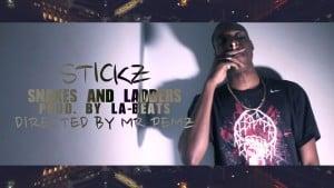 Stickz | Snakes and Ladders [Prod. by LA-BEATS] (Music Video) @StizzyStickz @LABeats1| @HBVTV