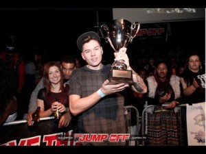 "The Diplomats ""Dipset Anthem"" Singing Battle – The Jump Off Finals 2014"