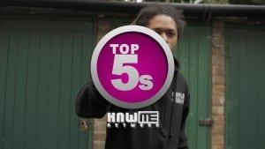 Top5s – Jon E Clayface #KNWME @JonEClayface