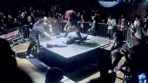 Twerker Goes WWE Style On Guy During Twerk Contest @ The Jump Off