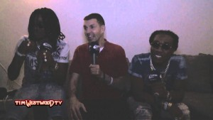 Westwood – Migos on YRN, Offset, after party
