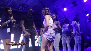 Westwood – MIgos twerk contest at Fresh Island