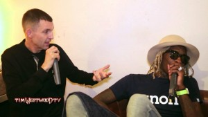 Westwood – Young Thug backstage in London