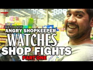 Angry ShopKeeper Watches Shop Fights @AngryShopKeeper