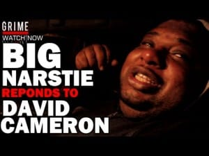 Big Narstie Responds To David Cameron Getting Head From Dead Pig