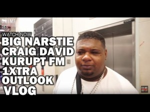 Big Narstie : VLOG (Craig David, Kurupt Fm, 1xtra Takeover, OutLook)