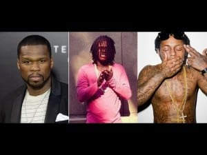 """Chief Keef Says Lil Wayne & 50 Cent Have Inspired him to Spit """"Fire Metaphors"""" in Recent Months!"""