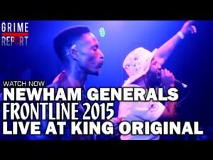 D Double E, Footsie, Monkstar (Newham Generals) Frontline 2015 – Live @ King Original