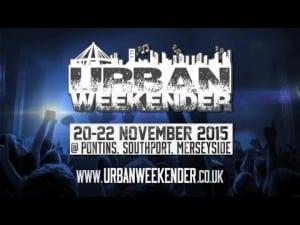 Urban Weekender (20-22 November 2015)