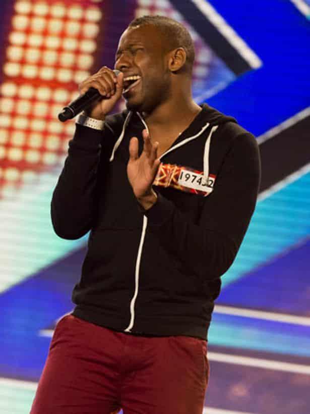 Nathan Fagan Gayle on the X Factor