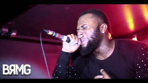 Cadet Performs New Track At #GrimeAid [@CallMeCadet] | BRMG