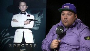 James Bond Spectre bad guy Dave Bautista chats to Charlie Sloth