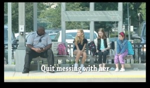 This Girl Is Being Bullied At The Bus Stop. Watch What The Adults Do Who Witness It