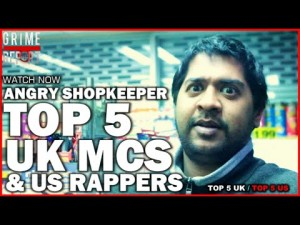 Angry ShopKeeper – Top 5 UK Mcs & US Rappers [@AngryShopKeeper]