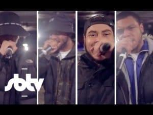 Jammz x AJ Tracey x Big Zuu x Mic Ty [FABRICLIVE Bars]: SBTV