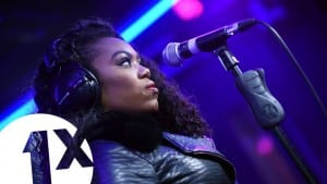 Lady Leshurr performs Queen's Speech 4 in the 1Xtra Live Lounge