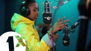 Nadia Rose Freestyle For DJ Semtex