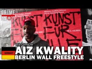 Aiz Kwality – Berlin Wall Grime Freestyle #Germany [@Aizkwality]