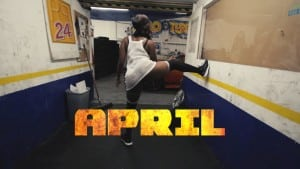 April Twerking Freestyle to 'You Aint Got No' by Nightcrashers
