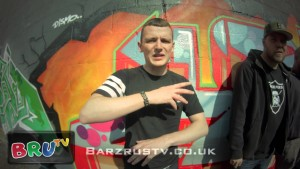 BarzRusTV – Rick Fury, Just B , Deej , H-Man, & Gilly man Giro – Newcastle Cypher