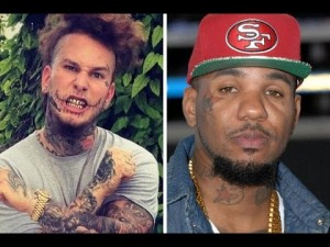 Stitches Waits Outside Club for HOURS for The Game, Spits on His Car then gets KO'd n Arrested.