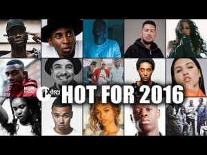 1Xtra's Hot for 2016