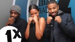 Michael B Jordan talks 'Creed' & 'Rocky' with Twin B & Yasmin Evans