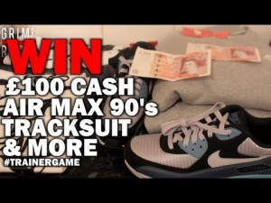 Win Nike Air Max 90 Trainers, Nike Tracksuit, £100 & More [Trainer Game]