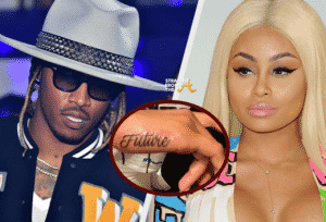 """Blac Chyna Getting """"Future"""" Tattoo Removed from Her Hand"""