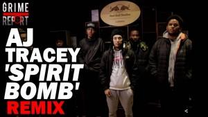 AJ Tracey – Spirit Bomb (Remix) ft. Dave, PK, Merky Ace, Cadell, Capo Lee & more