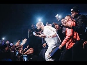 Drake surprise appearance at Section Boyz show | GRM Daily