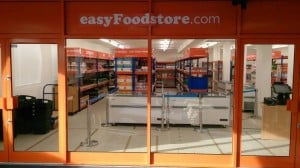 EasyJet has opened a budget 25p supermarket in London