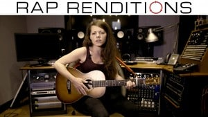 Future 'F*ck Up Some Commas' Acoustic Cover by Laura Harding (Rap Renditions #7)