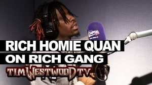 Rich Homie Quan says its all love with Rich Gang