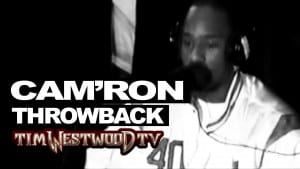 Cam'Ron freestyle exclusive never heard before! Throwback 1998 Westwood