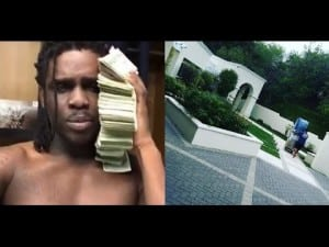 Chief Keef GLOs Up and Cops a Bigger Mansion in Los Angeles.