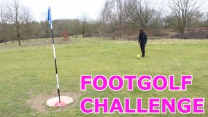 FOOTGOLF CHALLENGE!!