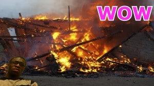 I BURNT DOWN MY HOUSE