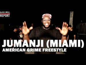 Jumanji (Miami) – American Grime Freestyle @MCJumanji